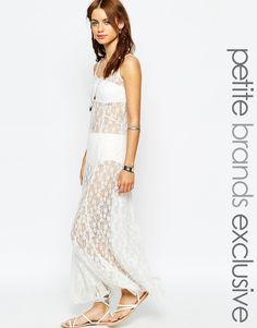 Glamorous Petite Crochet Maxi Dress