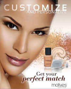 Custom Blend Foundation. Get Your Perfect Match!
