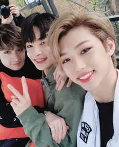 Stray Kids - Felix, JeongIn and Chan