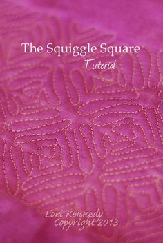 Squiggle Square Free