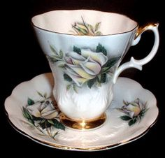 Helen    Introduced:    Cup Shape: Lyric, and Malvern ( mine is a Montrose shape)    Plate Shape: Hampton    Series of Six, Anne, Elizabeth, Helen, Margaret, Patricia, and Rosemary