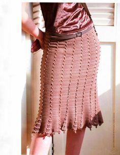 Crochet Bobble Skirts