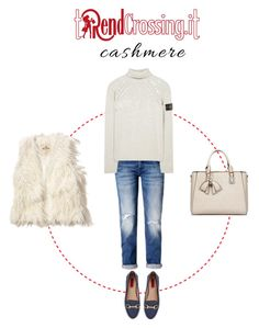 """""""Senza titolo #372"""" by trendcrossing on Polyvore featuring moda, STONE ISLAND, London Rebel, Hollister Co. e cashmere"""