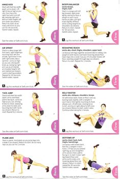 Workouts Plans : Picture Description September´s workout -Read More – Fitness Workouts, Fitness Tips, Fitness Motivation, Health Fitness, Health Exercise, Body Workouts, Jillian Michaels, 14 Day Detox, Lunge