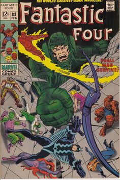 Fantastic Four 1961 1st Series 83  February 1969 by ViewObscura, $30.00