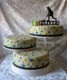Floorball cake for my son :)
