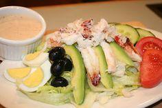 Crab Louie Salad. Yummy dressing.