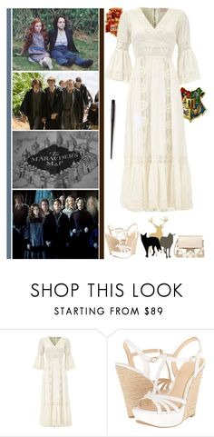 """""""solemnly swear that I'm up to no good - Mischief managed"""" by fashionqueen76 ❤ liked on Polyvore featuring Jessica Simpson, Chloé, pottermore and marauder"""