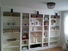 My version of billy bookcase built ins