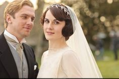 Mary and Matthew Crawley Wedding -  this wedding shoot must have been really fun