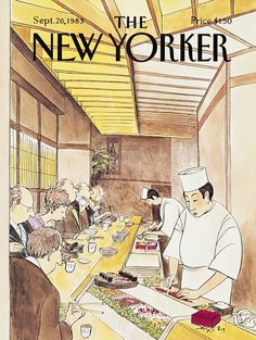 The New Yorker - Monday, September 26, 1983 - Issue # 3058 - Vol. 59 - N° 32 - Cover by : Charles Saxon