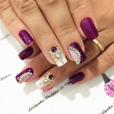 New french manicure designs rhinestones fingers Ideas New French Manicure, French Manicure Designs, Nail Art Designs, Dope Nails, My Nails, Healthy Nails, Cookies Et Biscuits, Ring Finger, Nail Arts