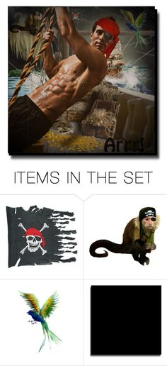 """""""AAArrrrr...Matey"""" by cathy1965 on Polyvore featuring art"""