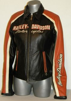 Harley-Davidson Women's Vintage Cruiser Leather Jacket Size S