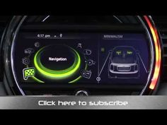 2015 Mini Coonnected Infotainment and Navigation System Review - YouTube