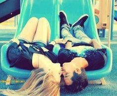 totally wanna take cute couple pictures like this...    need to find that other