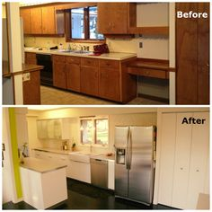 Check out the before and after from old to modern kitchen from a IKEA Share Space fan!