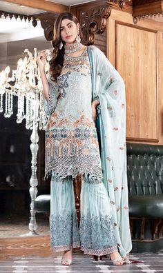 Vogue Clothing Studio - All you add is original Pakistani Dresses Online, Pakistani Bridal Dresses, Clothing Studio, Pakistani Street Style, Eid Collection, Pakistani Designers, Shalwar Kameez, Emma Watson, Chiffon