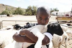 #kids  #lamb #africa #farm copyright by Luca Zordan