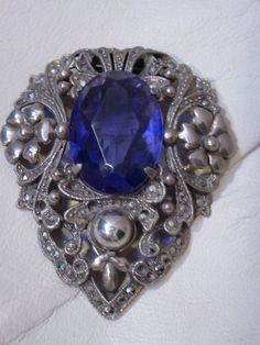 Vintage Jewelry Brooch  Clip by bluejeanjulie on Etsy, $24.00