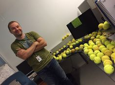 The feeling when you find 100 tennisballs taped (!) to your desk. I will get back to you girls and boys, oh yes, I will. Get Back, Your Girl, Boys, Girls, Tape, Desk, Feelings, Baby Boys, Toddler Girls