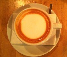 Latte art circle