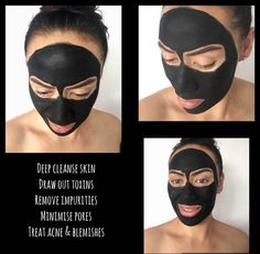 ACTIVATED COCONUT CHARCOAL + BENTONITE CLAY FACIAL MASK  Size: 40g pouch    With amazing detoxification power, antibacterial and antifungal properties, the porous surface of our Activated Coconut Charcoal works to attract chemicals and toxins on the skin like a magnet to:    ✔️deep cleanse skin  ✔️draw out toxins  ✔️remove impurities   ✔️minimise pores  ✔️help clear acne & blemishes    leaving your complexion healthier, cleaner & clearer.     *Although our product contains only 100% natural…