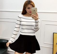 Cheapest Sweater Fashionable Long Sleeved Sweater White