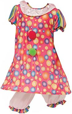 Forum Novelties Little Tickles The Clown Costume, Child Large ** Continue to the product at the image link.