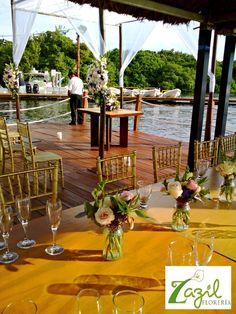 Floral decor for weddings & events in Cancun & Mayan Riviera. Contact us: ventas@floreriazazil.com #cancunflorist  #mayanrivieraweddings #cancunweddingflowers