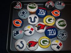 Image result for nfl cupcakes