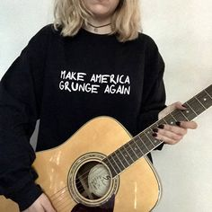 Make America Grunge Again Grunge Sweatshirt Grunge Shirt