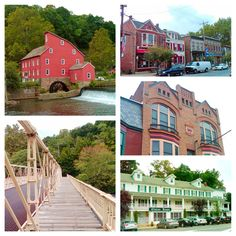 Clinton is one of New Jersey's many amazing river towns.