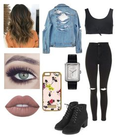 """""""Untitled #243"""" by stillkidruahl on Polyvore featuring Beth Richards, Topshop, High Heels Suicide, Lime Crime, River Island and Chanel"""