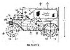 машинки из дерева своими руками чертежи - Поиск в Google