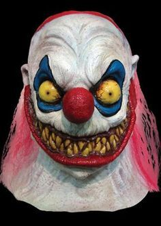 Slappy the Clown Halloween Mask is made from high quality latex. This is a full head and neck mask. Who can resist a killer clown during the Halloween season? Latex Halloween Masks, Scary Halloween Costumes, Halloween Carnival, Halloween Horror, Halloween Decorations, Halloween Party, Evil Clowns, Scary Clowns, Halloween Animatronics