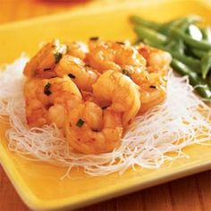 Chile-Glazed Shrimp   MyRecipes.com