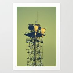 Tower - Augusta. Art Print by James Redd - $17.94 #Photography #urban #streetscape