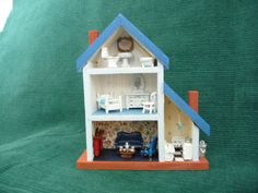 1/144 scale MINIATURE DOLL HOUSE for your DOLLHOUSE BLU | eBay