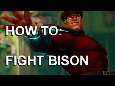 """What's up guys, I'm back with another Street Fighter 5 tutorial. A bunch of you have asked me in the comments to do a """"how to fight Bison""""video, so thanks for the suggestion guys, that's what we're gonna cover today. So as you probably know, Bison is a. M Bison, Street Fighter 5, Thankful, Guys, Cover, Gaming, Videogames, Game, Sons"""