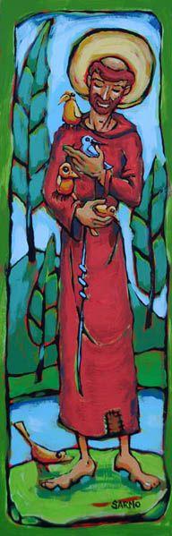 Spiritual Works Gallery - Tom Sarmo: The Cranky Bird Studio