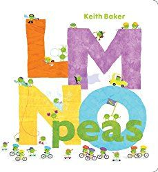 Brief Overview: LMNO Peas is an alphabet book where little peas are acting out the things whatever that particular letter of the page happens be to explain who they are and what they do. Thoughts: …