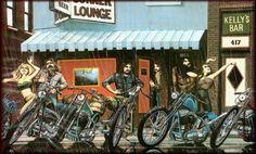 """Corner Lounge''"