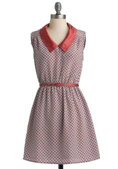 In Love, Indeed Dress--This one's back in stock! It runs a little large, so you may want to size down if you buy this. I wear the belt that comes with this dress with other outfits to add a pop of color.