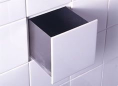 Secret hiding places - this one is a shower tile