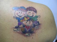 30 Tatuagens LINDAS de Filhos (Casal, Gêmeos, Fotos)