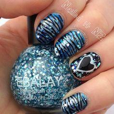 Instagram photo by naileditnz  #nail #nails #nailart