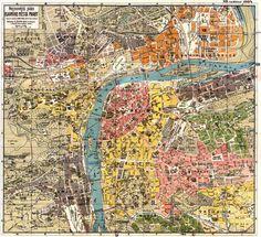 Map of Prague, 1924