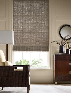 Roman Shades hartmann and forbes. dc design center j. lambeth