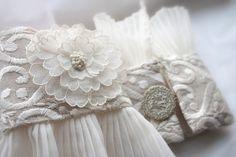 Bridal Cuffs 1920's Rose by QueenofCuffs on Etsy, $175.00